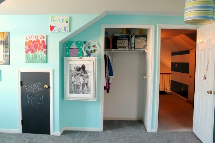 tween girl bedroom closet