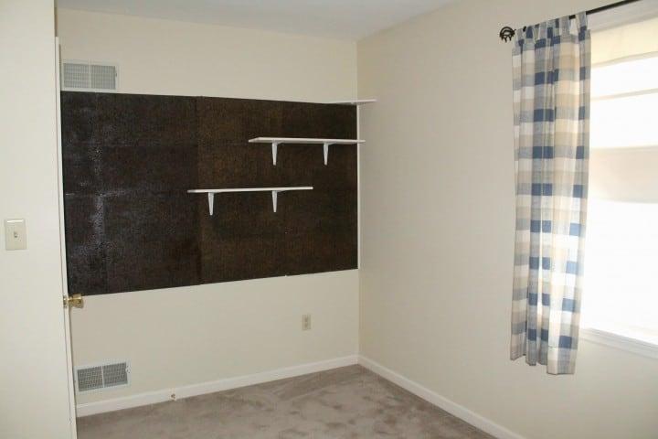 beige bedroom before