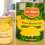 bulk cans of vegetables