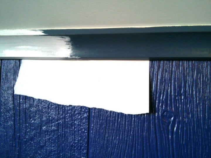 painting the trim hack