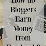 How Do Bloggers Earn Money on Facebook