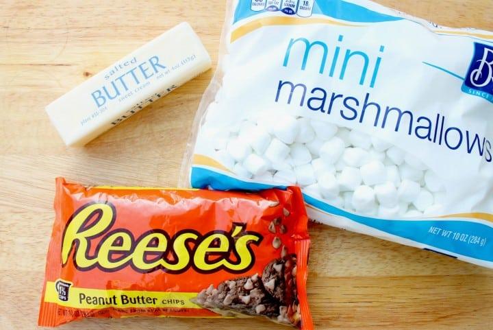 peanut butter marshmallow fudge ingredients