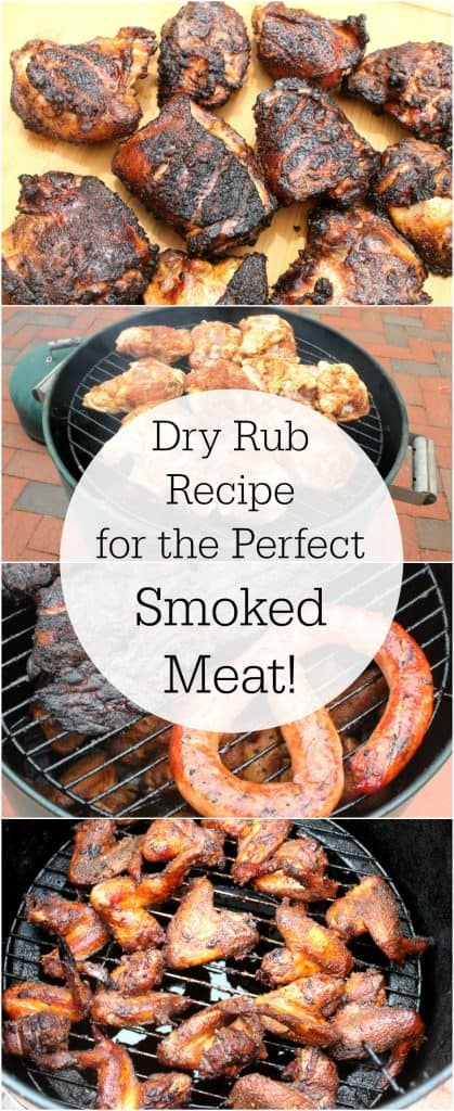 Dry rub recipe for smoked chicken, pork and other meat