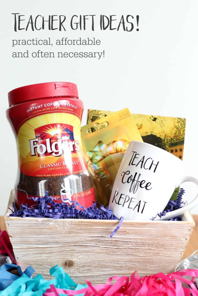 Teacher gift ideas for the end of the year!