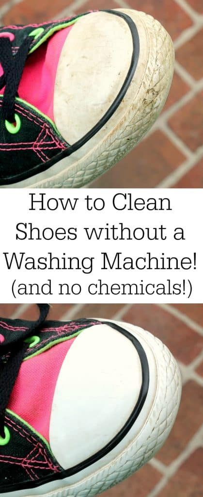 how to clean shoes without a washing machine