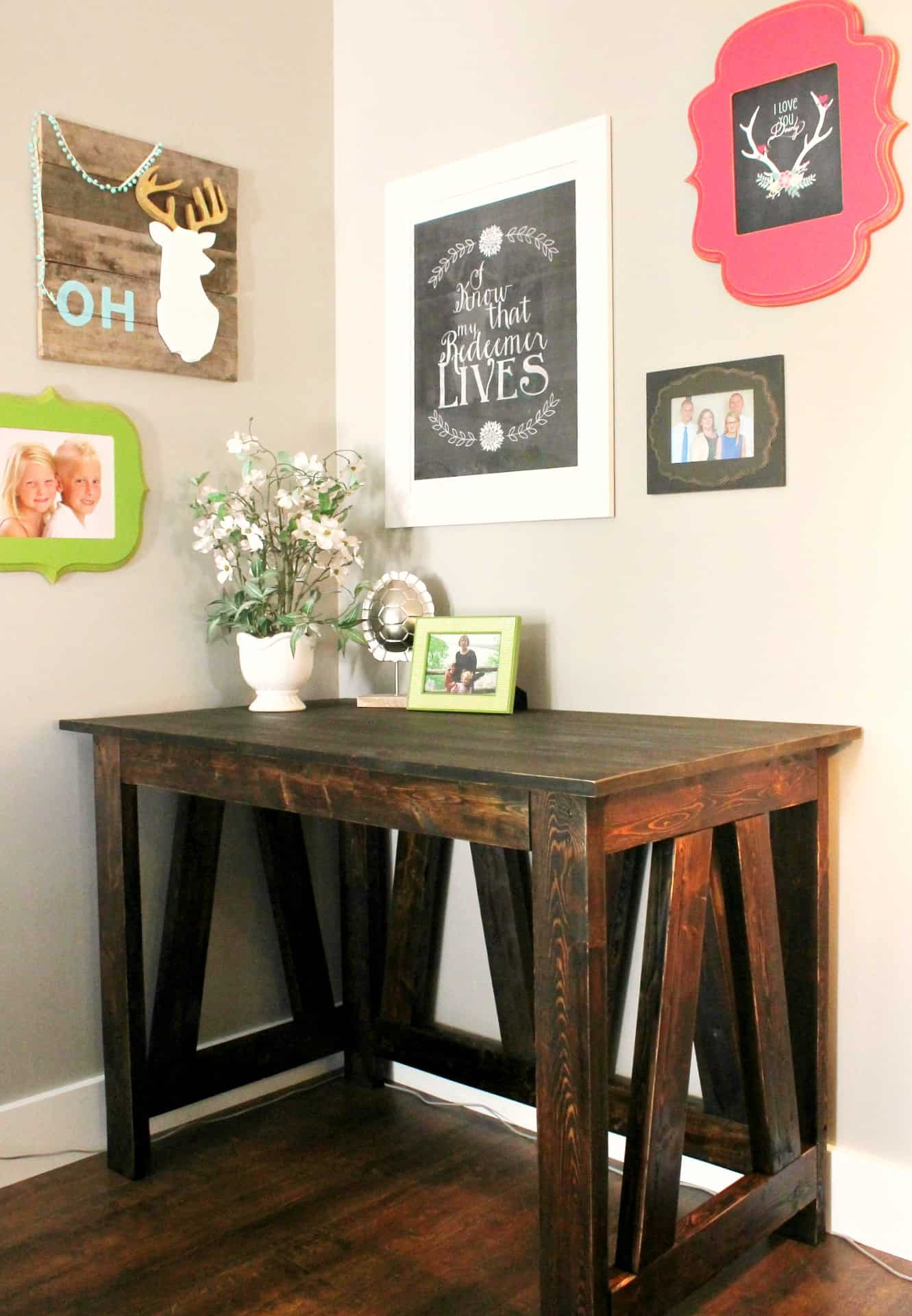 Remarkable Diy Desk From 2X4S A Turtles Life For Me Download Free Architecture Designs Rallybritishbridgeorg