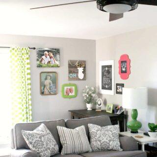 living room desk corner