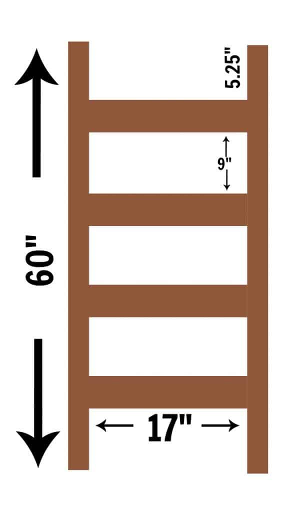 blanket-ladder-from-2x4s-dimensions