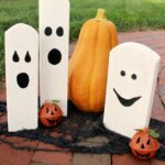 DIY Halloween Decorations from Wood Scraps