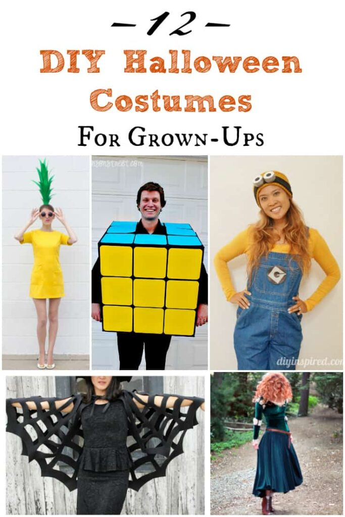 12 DIY Halloween Costumes for Adults that are appropriate for family parties!