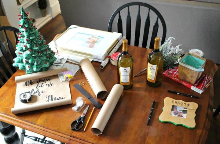 christmas-table-mess