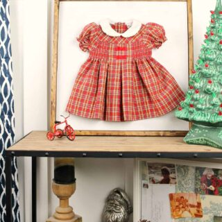first-christmas-dress-rustic-wall-art
