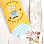 Minion Gift Card Printable