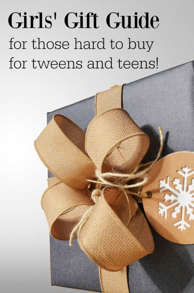 The perfect gift ideas for tweens and teens who are hard to buy for!