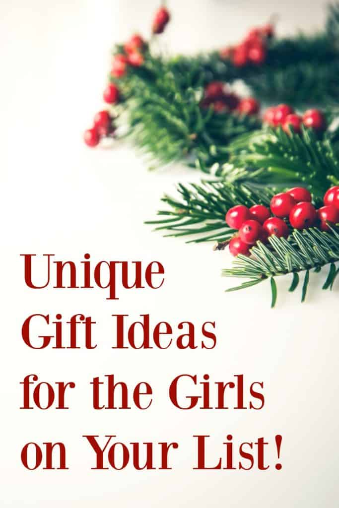 The perfect gift ideas for your girls that are hard to buy for!