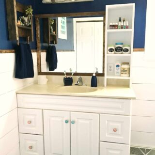 Bathroom makeover before and after pictures