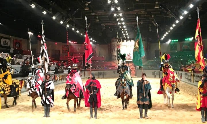 Visiting the Medieval Times Dinner Baltimore