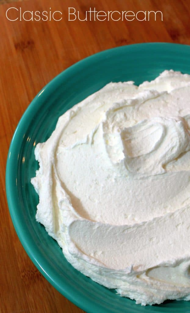 Classic Buttercream Recipe