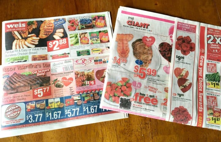 grocery store flyers