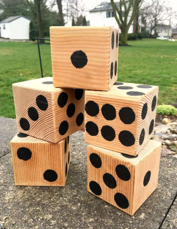 DIY Oversized Dice