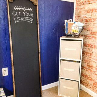 Oversized Chalkboard for office