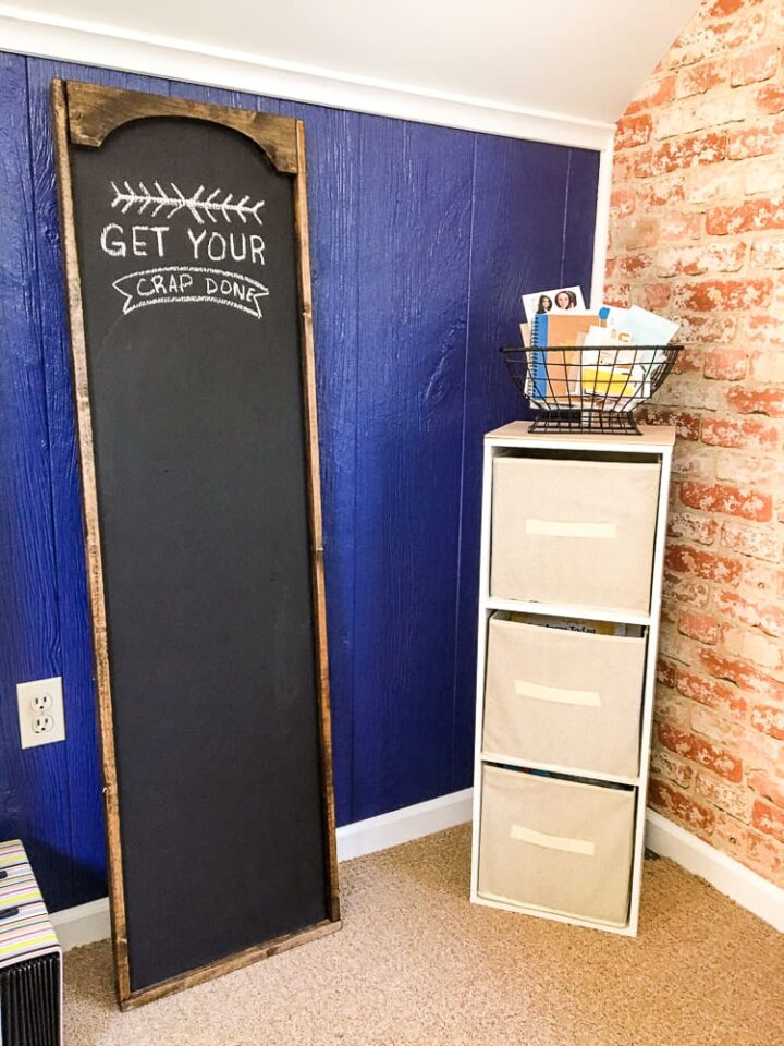 Oversized Chalkboard for office