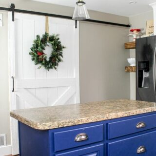 barn door for a kitchen pantry