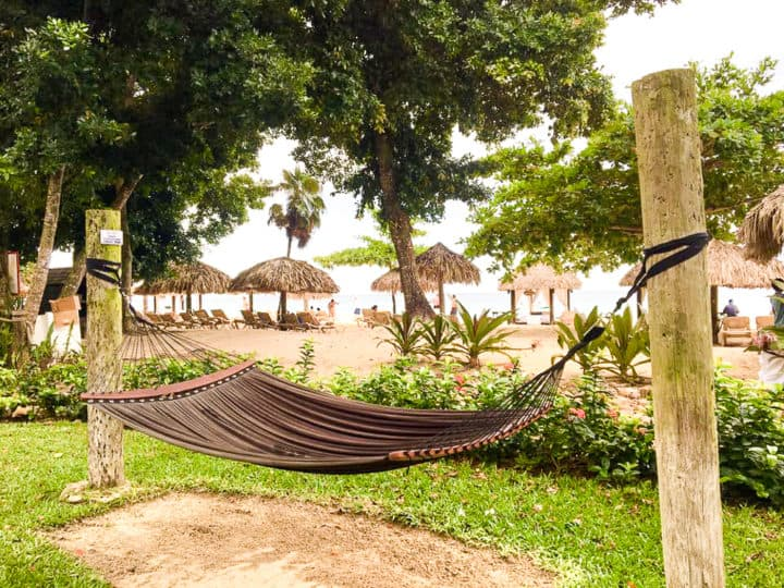 Beach Hammocks at Beaches Negril