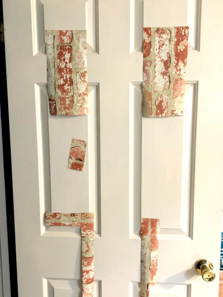 tips for applying peel and stick wallpaper