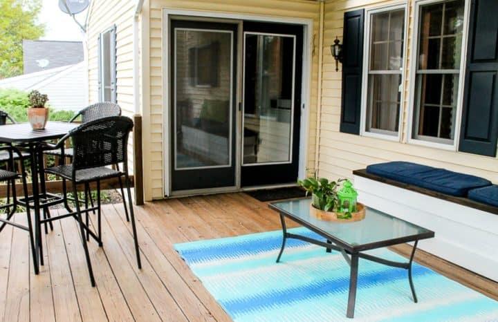 deck patio makeover