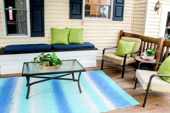 how to style a deck makeover