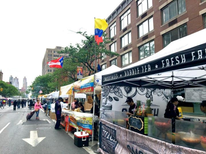 street fair in New York City