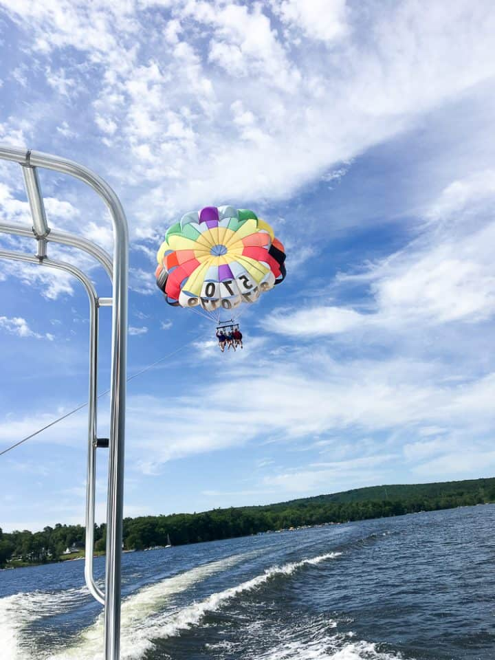 Pocono Action Sports Parasailing