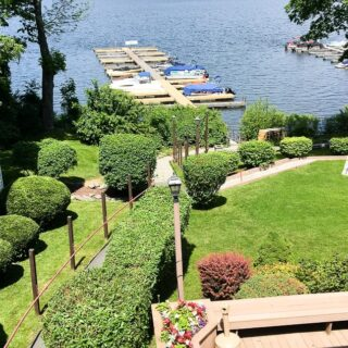 The Dock on Wallenpaupack water view