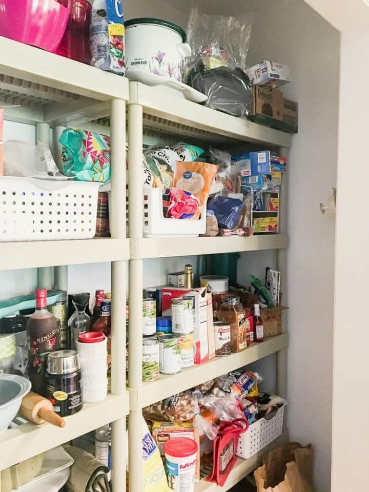pantry before renovation