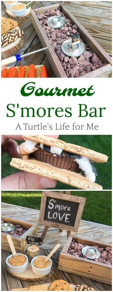 Create your own backyard summer s'mores bar with gourmet toppings