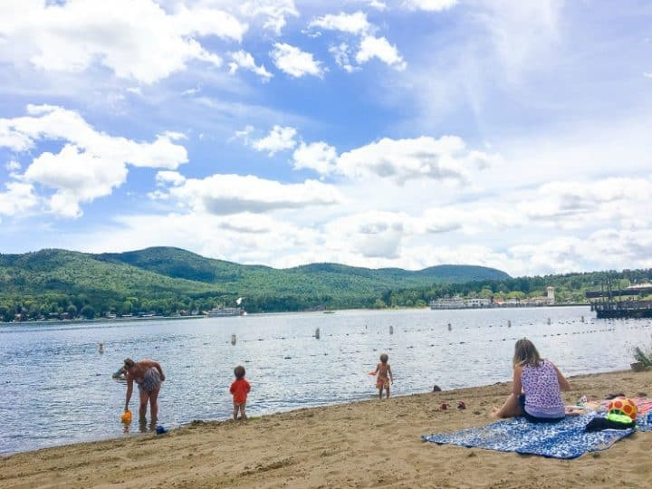Free-things-to-do-in-Lake-George-public-beaches