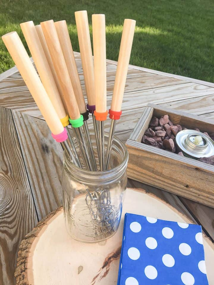 child safe s'mores sticks