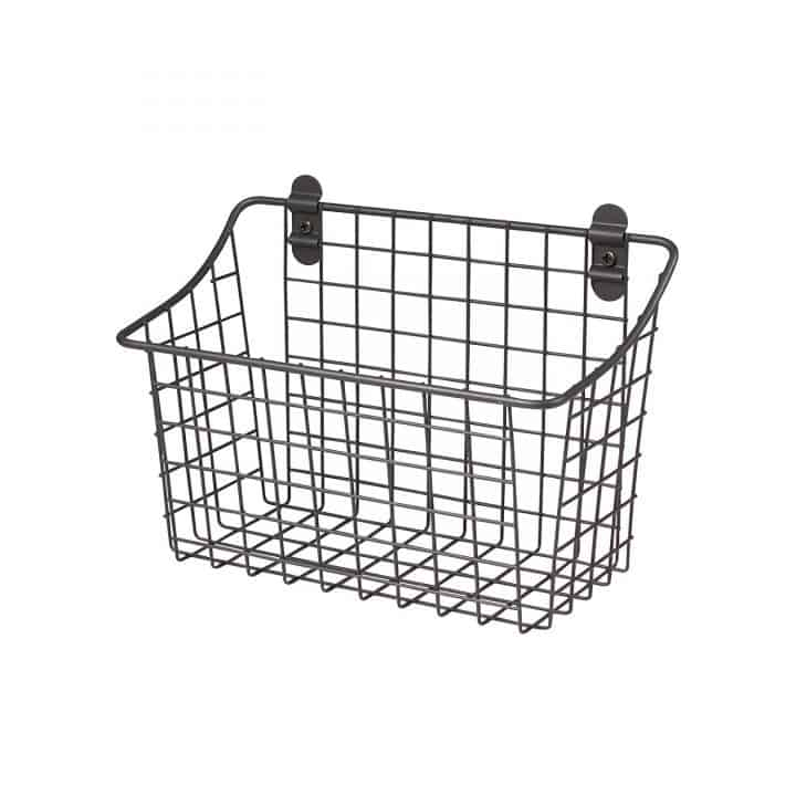 metal basket!