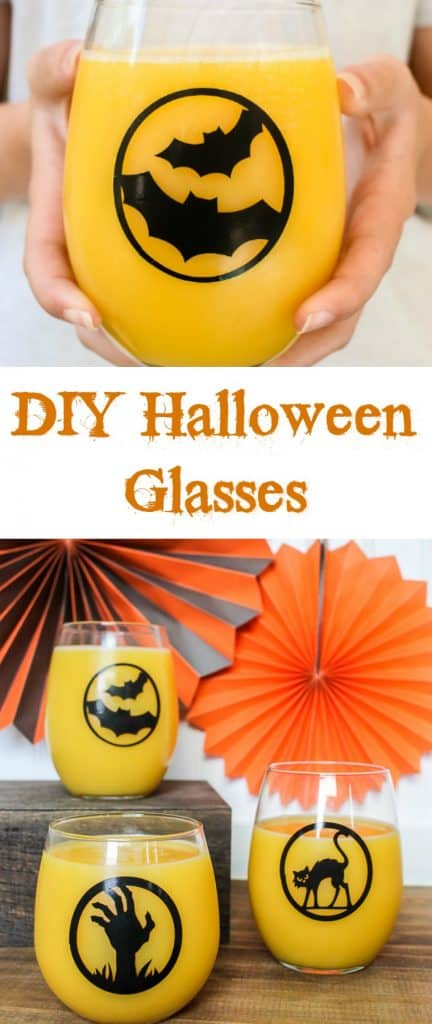 How to Make DIY Halloween Glasses with Cricut