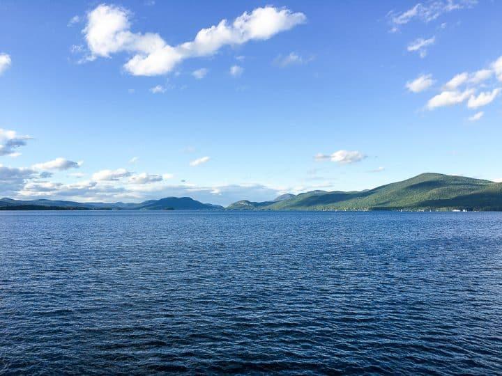 Adirondack views Lake George NY_