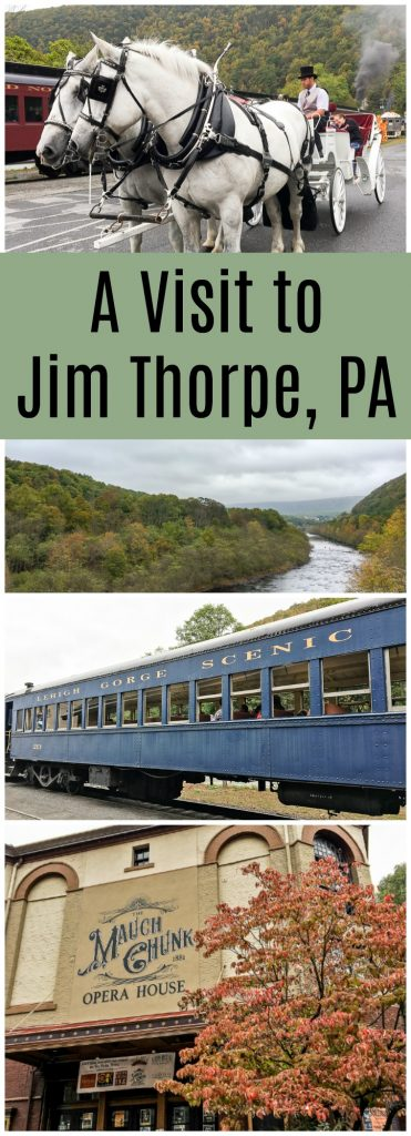 Day trip to Jim Thorpe Fall Foliage Festival