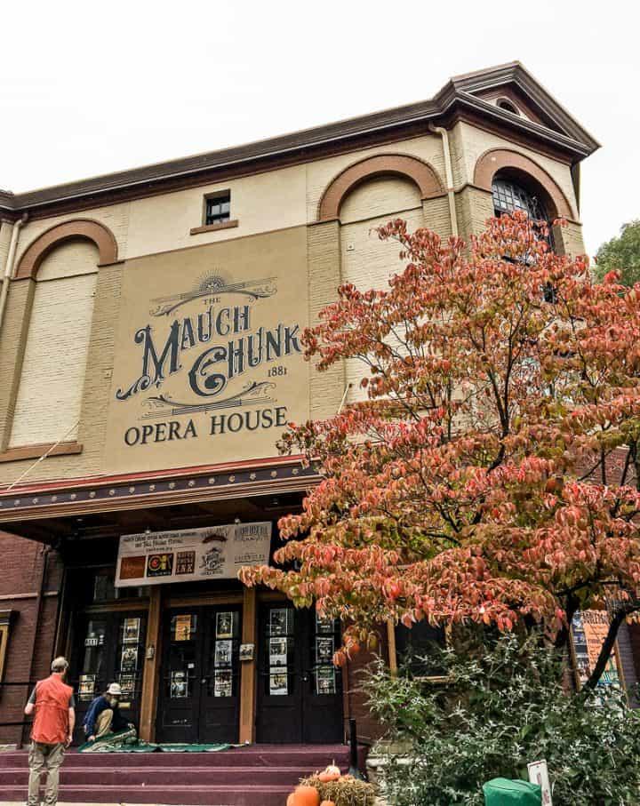 Jim Thorpe PA Mauch Chunk Opera House