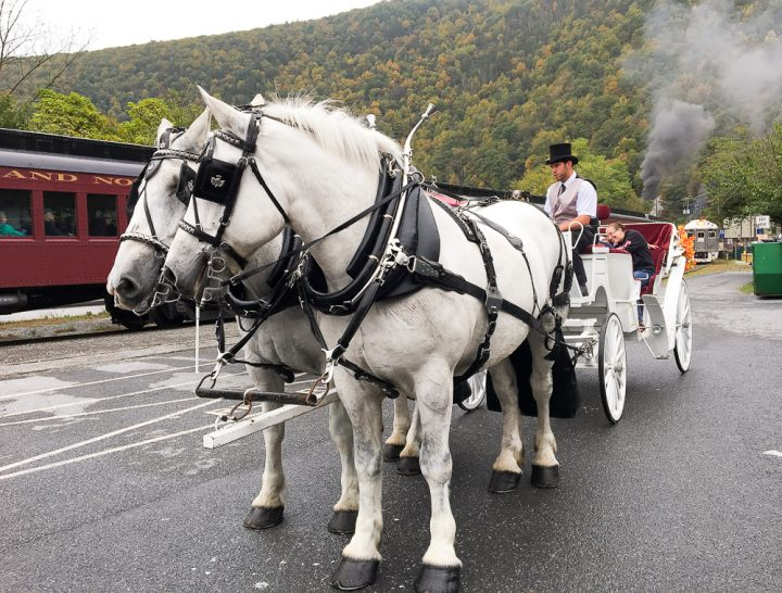 Jim Thorpe carriage ride