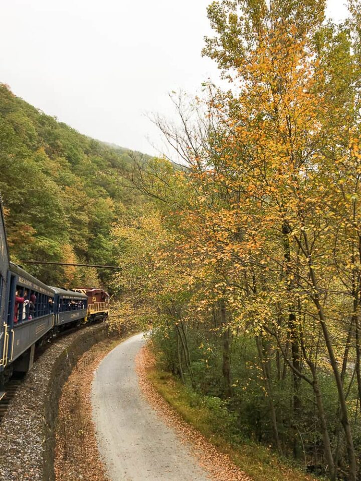 Jim Thorpe train ride