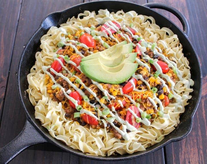 Taco Casserole Recipe for stove top