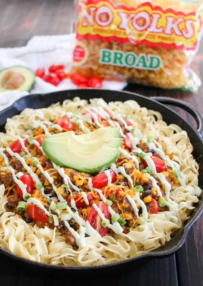 Taco Noodle Casserole Recipe