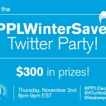 RSVP for the #PPLWinterSavers Twitter Party Thurs., Nov. 2 at 8pm ET!