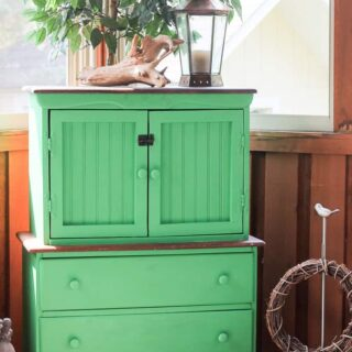correct way to paint 2 tone furniture