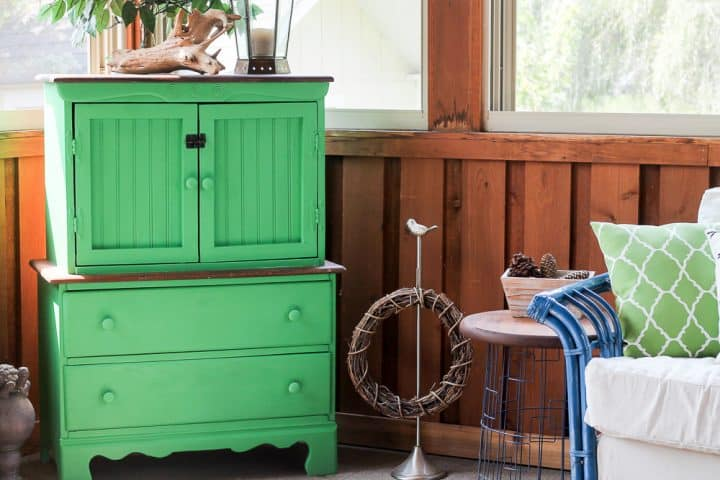 correct way to paint two tone furniture